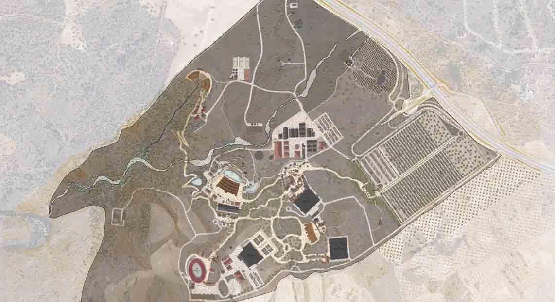 Planta general edificios