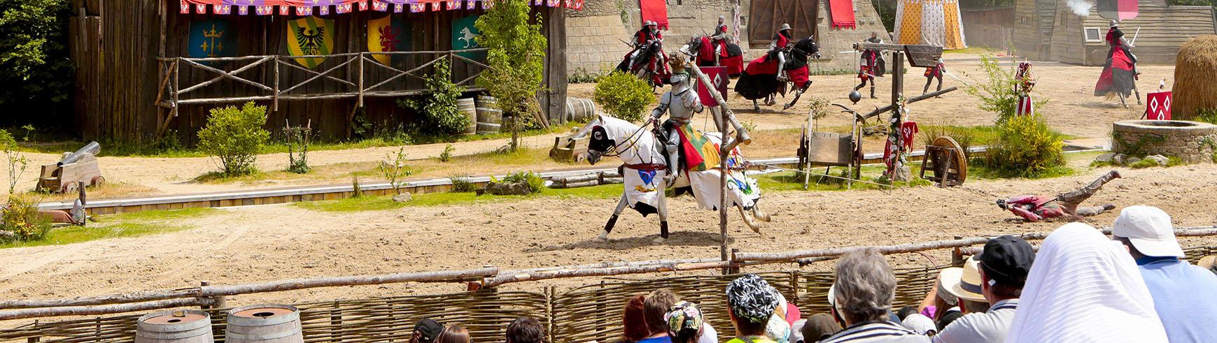 Un equipo en acción Puy du Fou