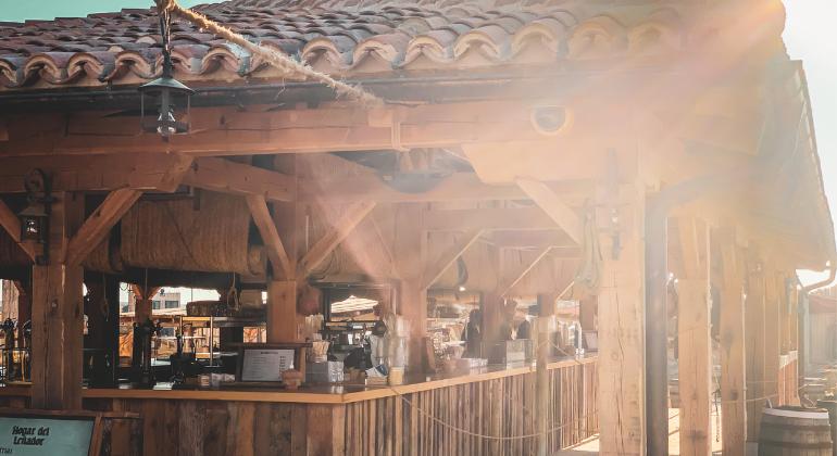 Mercado medieval El Arrabal de Puy du Fou España