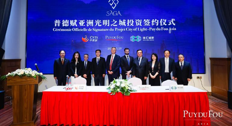 Puy du Fou prepara un nuevo espectáculo en Shanghái